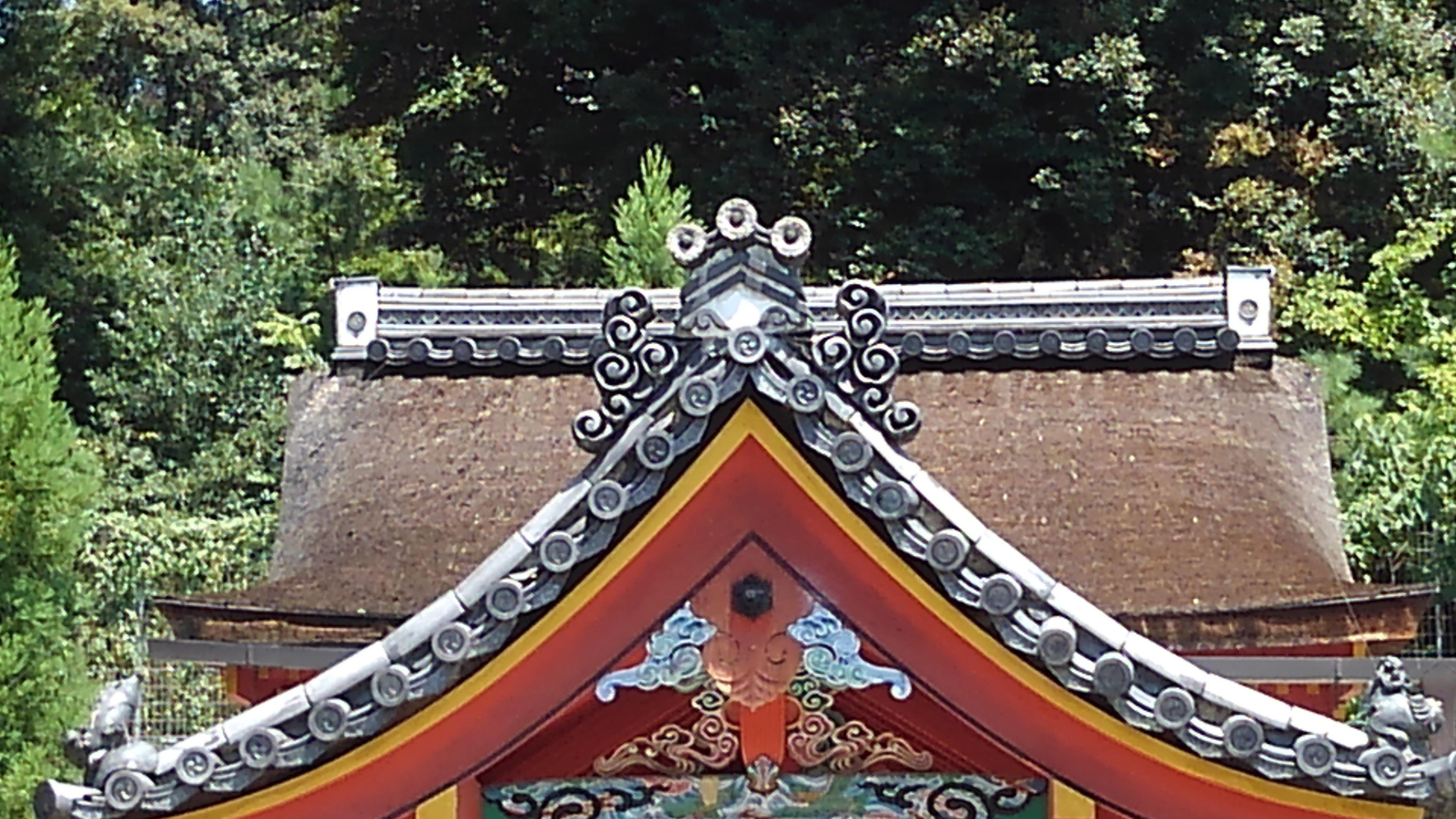 神社ズーム