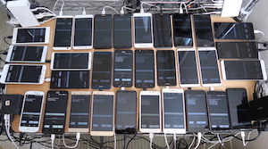 格安SIMの通信速度の計測