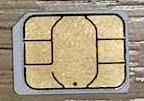 通常のSIMカード