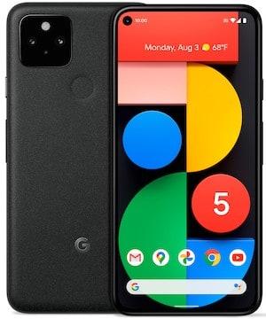 Google Pixel 4a (5G)とPixel 5