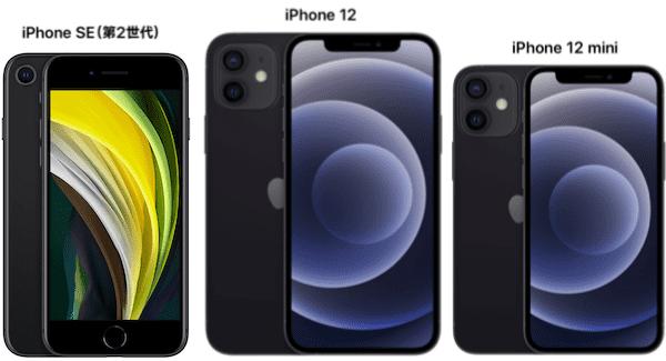 iPhone SE 第2世代のサイズ