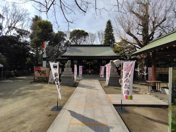 Redmi 9Tのカメラの超広角モード(神社)