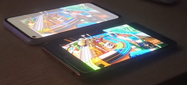 Redmi Note 10 Proの画面比較