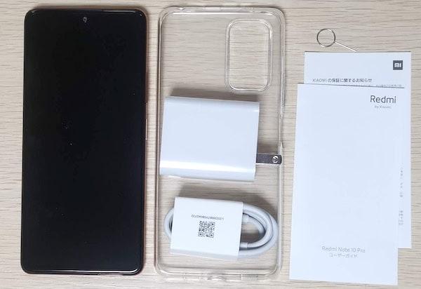 Redmi Note 10 Proの中身の画像