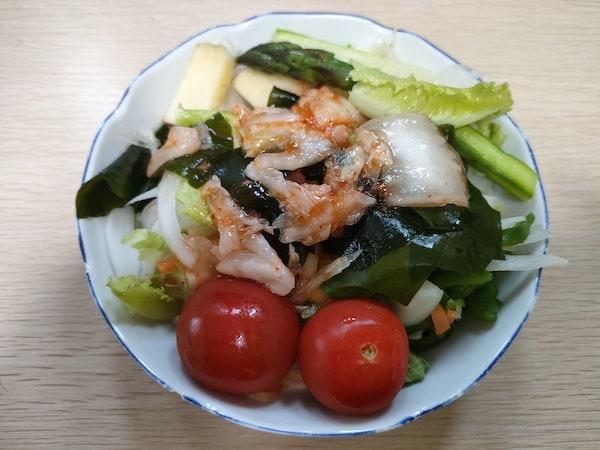 OPPO Reno5 Aの食べ物の写真