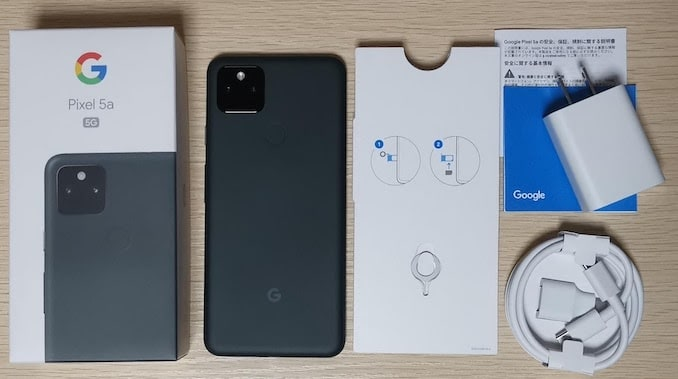 Pixel 5a (5G)の中身